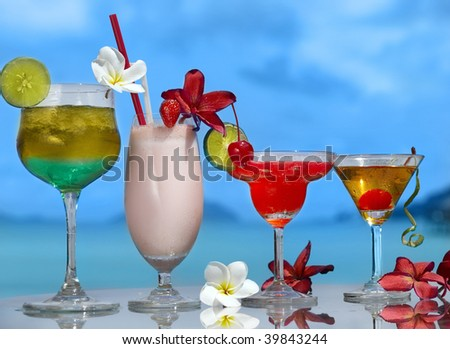 four cocktail