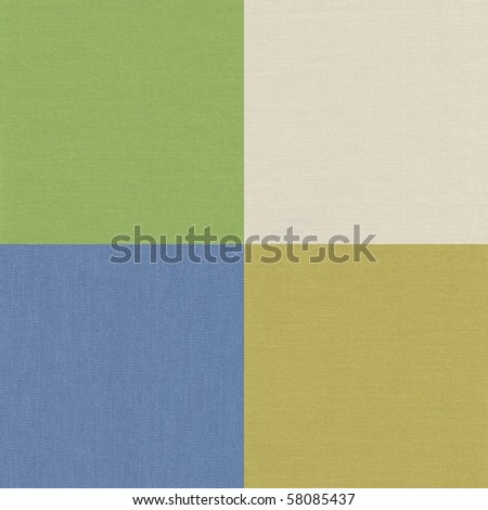 Four color low relief paper surface. - stock photo