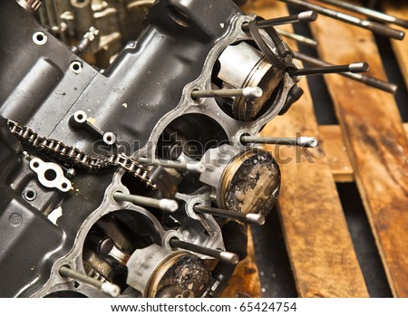 Four cylinder motorcycle engine