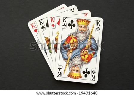 four kings - stock photo