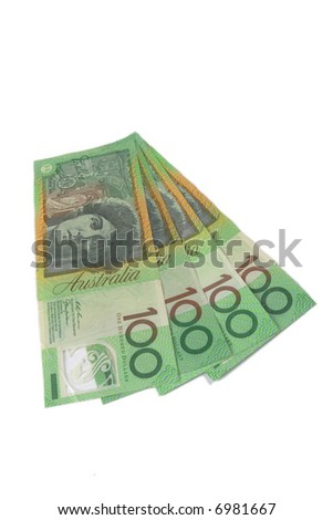 four 100$ notes