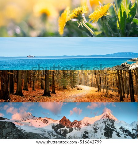 4 Seasons Stock Images, Royalty-Free Images & Vectors ...