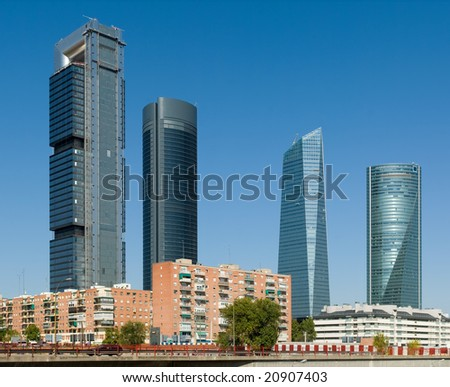 Four Towers - stock photo