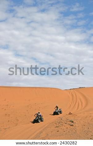 Four Wheeling - stock photo