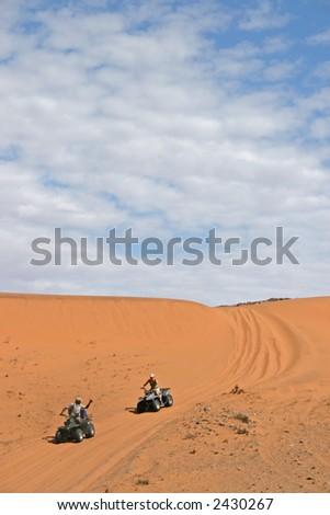 Four Wheeling the Hartmann Valley - stock photo