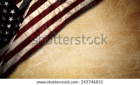 fourth july background - stock photo