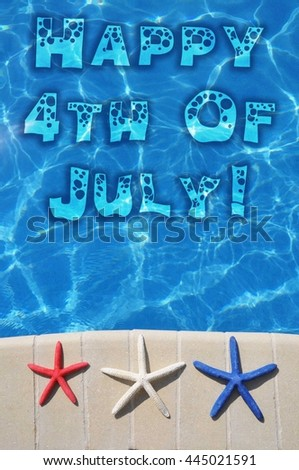Fourth Of July concept - stock photo