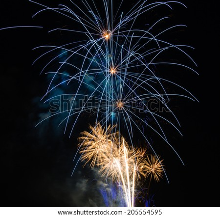 Fourth of July Fireworks - stock photo
