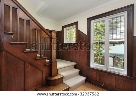 Foyer in older home