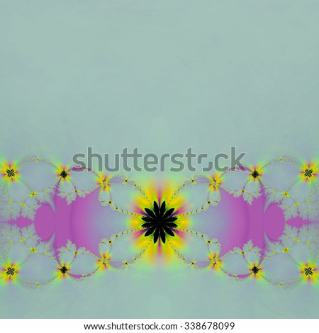 Fractal colorful and abstract background - stock photo