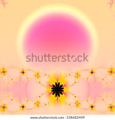 Fractal colorful and abstract,,,background - stock photo