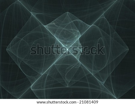 fractal crossing background - stock photo