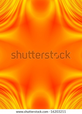Fractal image of a border background with copy space.