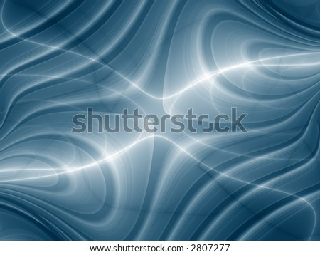 Fractal image of a convergence - stock photo