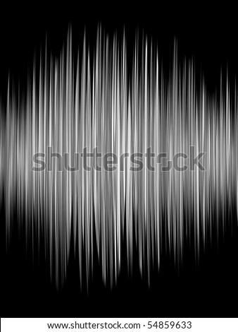 Fractal image of a spiky line representing a graph. - stock photo