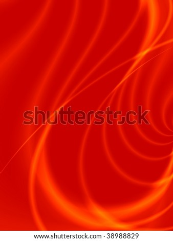 Fractal image of an abstract futuristic shape for a background. - stock photo