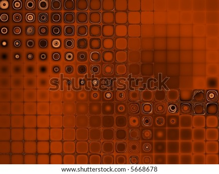Fractal image of an abstract futuristic shape for a background