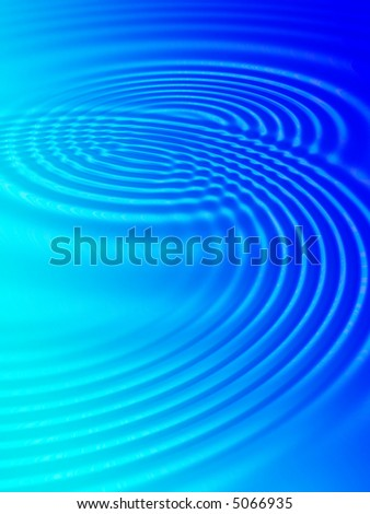 Fractal image of water ripples on a swimming pool for a background.