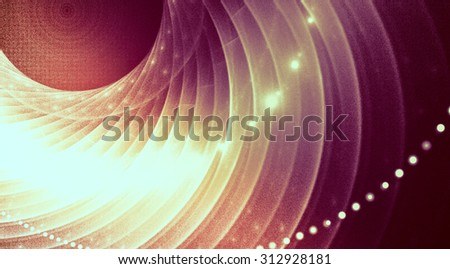 fractal modern background for modern design - stock photo