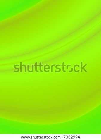 Fractal rendition of green grass back ground