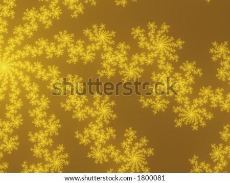 fractal snow background - stock photo
