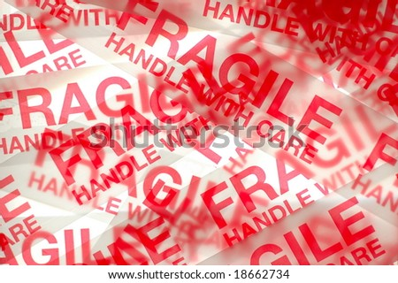 Fragile - stock photo