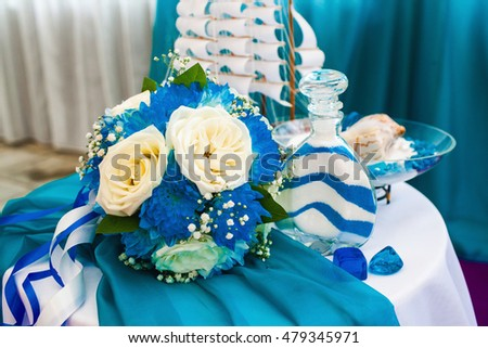 fragment like photo of beautiful wedding ceremony
