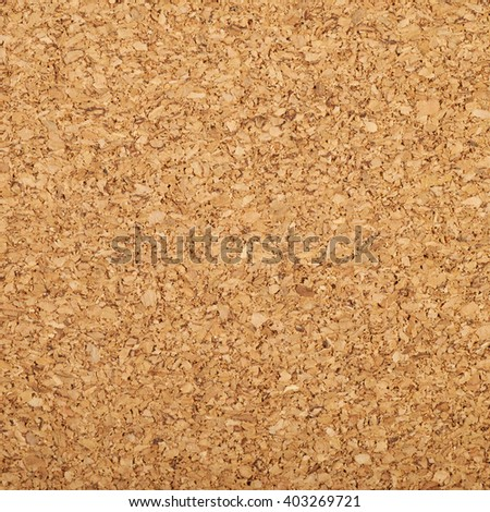 Fragment of a brown cork texture as a background composition