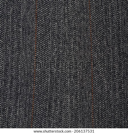 Fragment of a casual gray suit as a background texture - stock photo