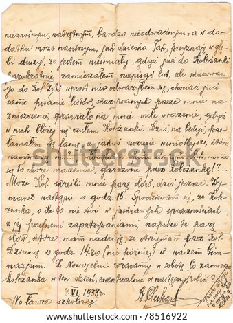 Handwritten Letter Stock Photos, Royalty-Free Images & Vectors ...