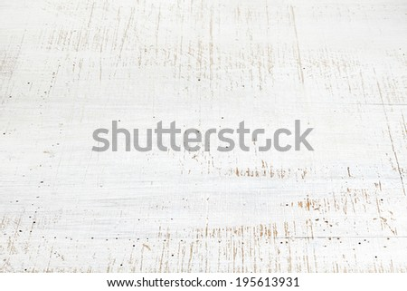 fragment of old white wooden background - stock photo