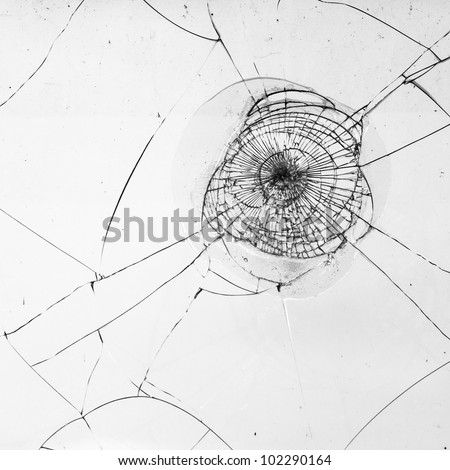 fragmented window pane in black and white for texture works