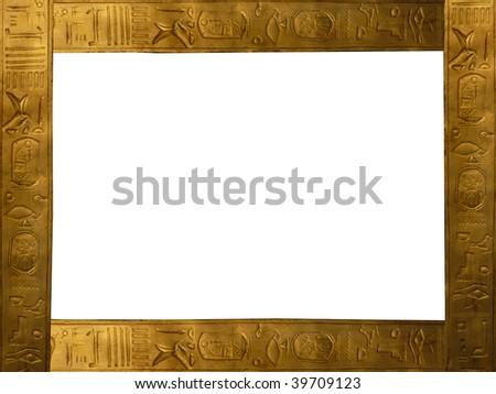 frame agypt - stock photo