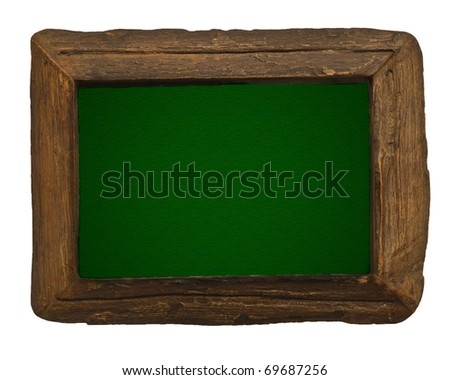 Frame And Green Board
