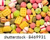 frame filling shot of  dutch candy - stock photo
