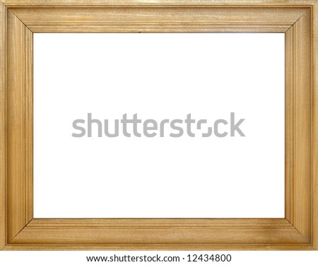 Frame for one photography or picture - stock photo