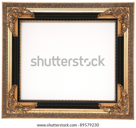 Frame for picture - stock photo