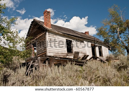 Frame House Some White Paint Brick Stock Photo (Download Now ...