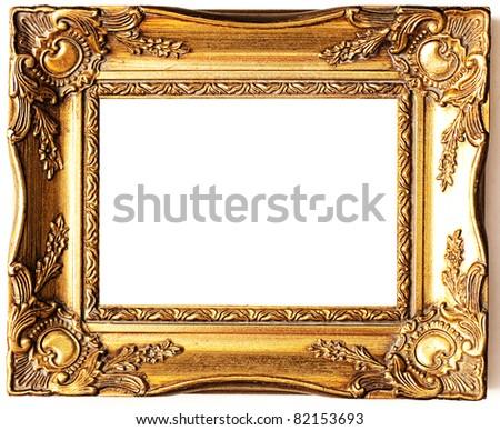 frame isolated - stock photo