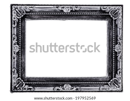 Second Empire Framed Decoration Created By Stock Photo