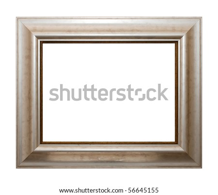Frame of Baget isolated on white - stock photo