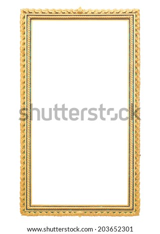 Frame of Thai style classic art - stock photo