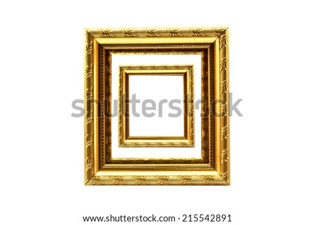 Frame Picture Two One Stock Photo Royalty Free 215542891