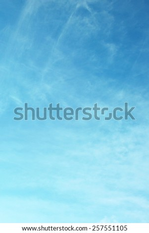 Frame vertical of sky background - stock photo