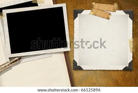 Frames Background - stock photo