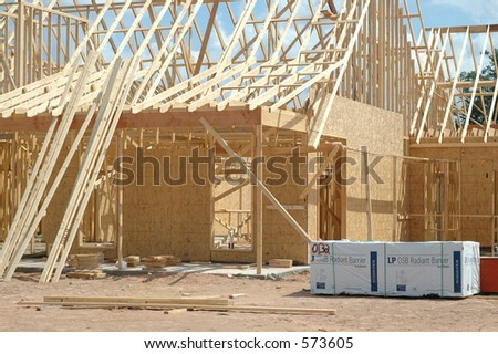 Framing - stock photo