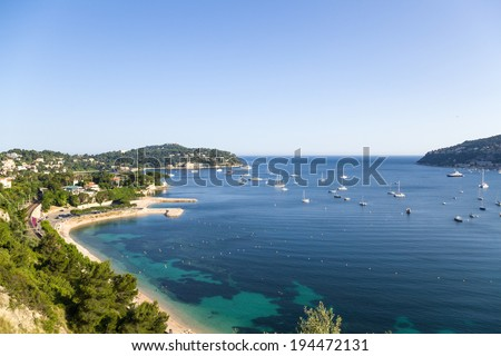 France. Bay of Villefranche