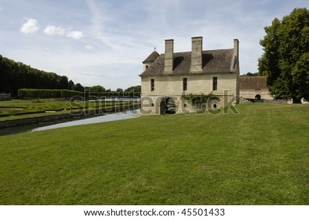 France, castle of  villarceaux