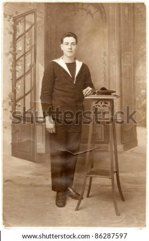stock-photo-france-circa-antique-postcar