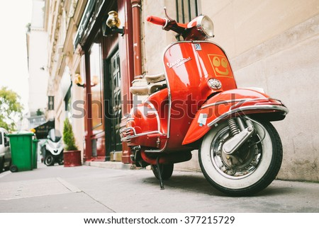 vintage vespa stock images royalty free images vectors shutterstock. Black Bedroom Furniture Sets. Home Design Ideas